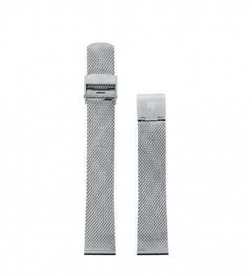 bracelet milanais chromé 18mm