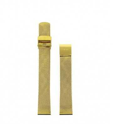Bracelet milanais doré, 14mm - 150613
