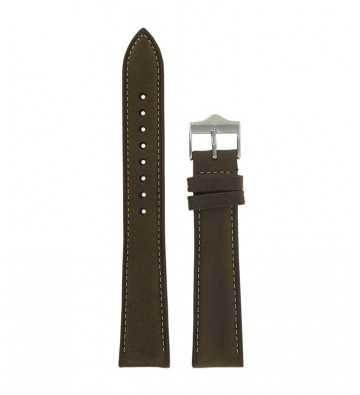 cuir marron 18mm