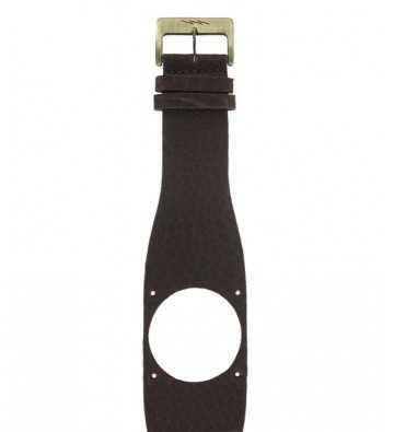Bracelet en cuir marron Diode