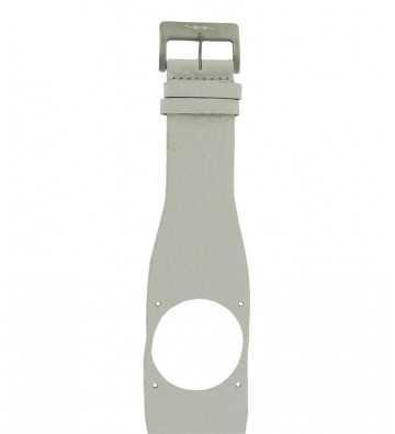 Bracelet en cuir gris Diode