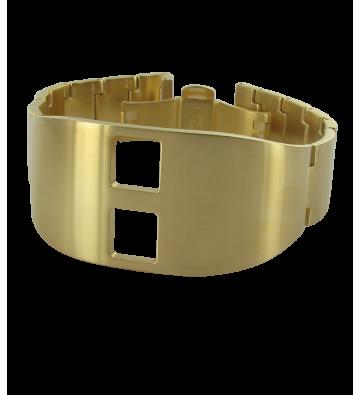 bracelet acier gold de bashmakoff