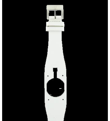 bracelet en cuir blanc lisse pour modèle fidge de lip