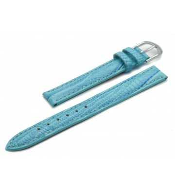 Bracelet cuir façon Lézard bleu - 502134xx