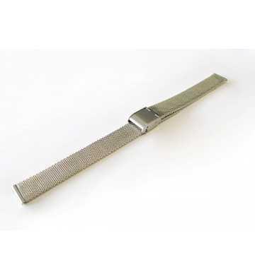 Bracelet en mailles milanaises chromé. - 503115xx